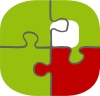 3 - MOP Logo Puzzle rot